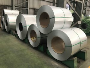 Zinc-Aluminium Coated Steel in Coil - GL